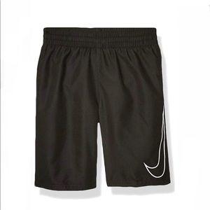 "Nike Swim Swoosh Solid Lap 8"" Volley Shorts medium"